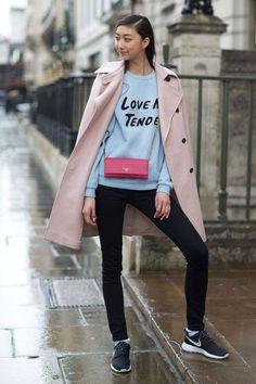 Street Style : London Town: Street Style Fall 2014