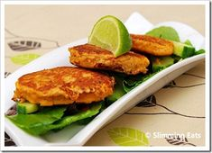 Thai Crab Cakes | Slimming Eats - Slimming World Recipes
