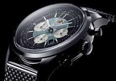 David Beckham & Breitling's Transocean Chronograph Unitime
