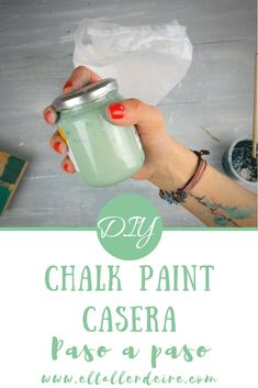 Tinta Chalk Paint, Chalk Paint Tutorial, Diy Projects To Try, Color Inspiration, Decoupage, Stencils, Diy Crafts, Cool Stuff, Bottle