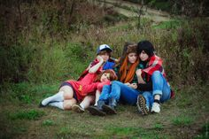 Gravity Falls cosplay by Kawaielli