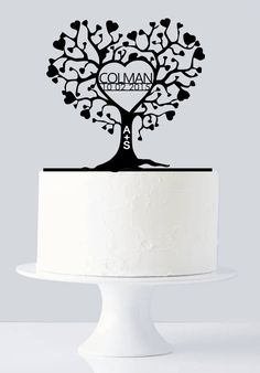 Unique Wedding Cake Topper, Custom Cake Topper, Last Name & Date Cake Topper with Name Initials, Wedding, Anniversary All Wedding Cake Topper made with Love, We use 3mm Acrylic and MDF wooden board to create cake toppers. You find in our shop a variety of cake topper like Custom Cake