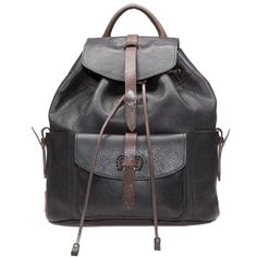 Rainier Backpack - With over thirty years of experience working with leather, Will infused all of his expertise into the Women's Signature Leather Collection.  Using vegetable tanned American cow hides, Will chose a raw, unlined construction for this collection to show everyone what goes into making each bag. You can see every cut, stitch and rivet – both inside and out. Paired w/ full grain, Italian vegetable tanned leather from Tuscany, Will selected the trim leather to be sturdy yet supple. Designed to be wardrobe-staples, Will wants you to carry these bags today, tomorrow and for years to come – classic, timeless works of art that pay homage to the true art of leather craft.