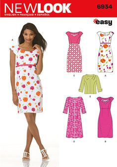 e1eef4e2280 31 Best Out-Of-Print New Look Sewing Patterns images