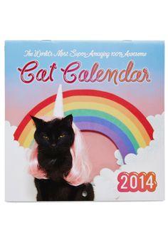 Queen Purr a Day 2014 Calendar, #ModCloth