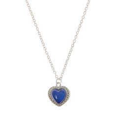 Mood Stone Heart Pendant Necklace Claires 3 euros Love Love !