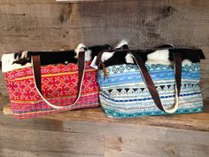 Cowhide & Embroidered Boho Beach Bags designed & manufactured by The Bohemian Beach Company bags Bohemian Beach, Boho, Beach Bags, Ibiza, Tote Bag, Accessories, Beautiful, Design, Beach Totes