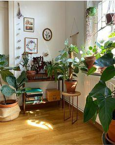 Living Room Decor, Bedroom Decor, Deco Studio, Room With Plants, Aesthetic Room Decor, Apartment Interior, Dream Rooms, Cool Rooms, My New Room