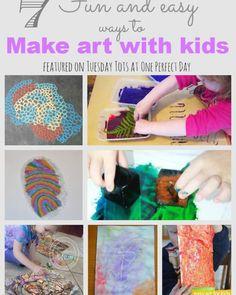 Nieuwe en interessante kunst ideeën voor kinderen