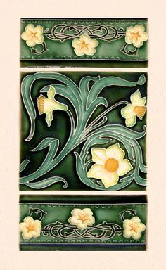 Art Nouveau Style Ceramics, New Zealand