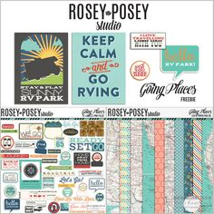 """Thursday's Guest Freebies ~ Rosey Posey Studio ✿ Join 8,000 others. Follow the Free Digital Scrapbook board for daily freebies. Visit GrannyEnchanted.Com for thousands of digital scrapbook freebies. ✿ """"Free Digital Scrapbook Board"""" URL: https://www.pinterest.com/sherylcsjohnson/free-digital-scrapbook/"""