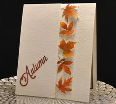 Fall 2015 by Peggy Dollar Die Cut Cards, Thanksgiving Cards, Fall Cards, Masculine Cards, Cute Cards, Fall Season, I Card, Special Events, Card Making