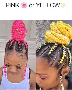 Braids With Bead Embellishments - 40 Best Big Box Braids Hairstyles Big Box Braids Hairstyles, Black Girl Braided Hairstyles, Black Girl Braids, African Braids Hairstyles, Hairstyle Ideas, Woman Hairstyles, Protective Hairstyles, Kanekalon Jumbo, Under Braids