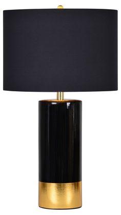 Stark Table Lamp, Black