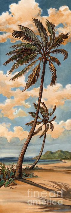 Palm Breeze I Print by Paul Brent. All prints are professionally printed, packaged, and shipped within 3 - 4 business days. Choose from multiple sizes and hundreds of frame and mat options.