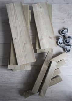 DIY houten plantentrolley 1