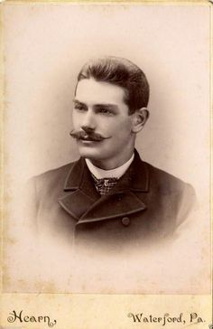 40 Vintage Portraits of Extremely Handsome Victorian Men With Mustache ~ vintage everyday Victorian Gentleman, Victorian Men, Victorian Makeup, Vintage Gentleman, Victorian Photos, Victorian Fashion, Braided Hairstyles For Teens, Boy Hairstyles, Hairstyle Ideas