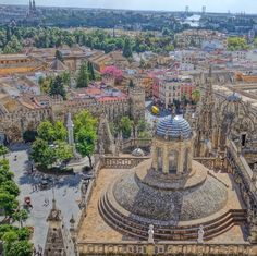 Seville, the capital of southern Spain
