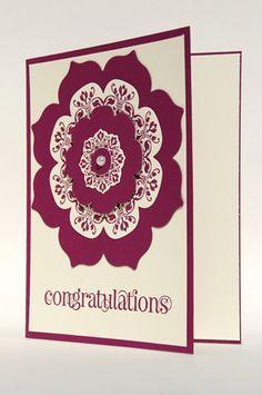#congratulations #card #red #elegant #interestingfont