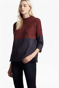 RSVP Colour Block Knit Jumper