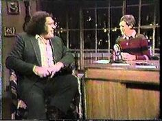 Andre the Giant on Letterman