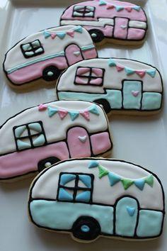 Vintage Camper Cookies