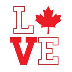 Canada Love Onesie   Fabrily