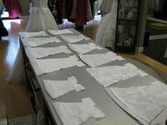Lovely Turn old wedding dress into burial clothes for infants
