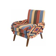 Wool and Cotton Traveller Armchair