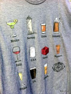 #New! Epcot World Showcase Drinks and Eats T-Shirts | the disney food blog     -   http://vacationtravelogue.com Best Search Engine For Hotels-Flights Bookings   - http://wp.me/p291tj-9w