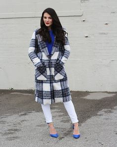 Bundle up this winter in a chic peacoat!
