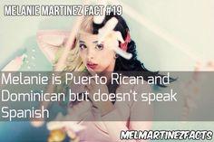 Melanie fact @ møe 🌞 ⛅🌟 fσℓℓσω мє for more! Melanie Martinez Facts, Melanie Martinez Music, Crybaby Melanie Martinez, American Horror Story Freak, Best Sister, My Destiny, She Song, How To Speak Spanish, Crazy People
