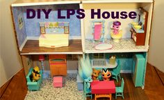 How to Make a Littlest Pet Shop Doll House | DIY | HTM | Easy Step by St...