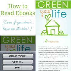 How to Read eBooks - even if you don't have an eReader. Easy Instructions for uploading and reading eBooks on different devices!