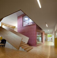 Childcare Centre in Sierre - Architects:Giorla & Trautmann Architectes