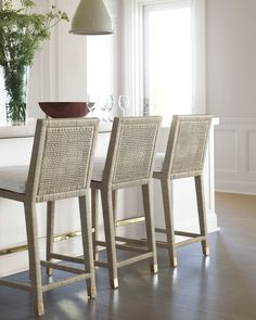 Balboa Counter Stool - Mist - Serena & Lily
