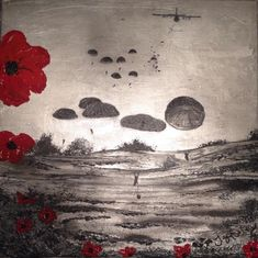 Ready For Anything by Jacqueline Hurley ~ Limited Edition Signed Giclée Print ~ War Poppy Collection Remembrance Art Remembrance Day Pictures, Remembrance Day Poppy, Army Tattoos, Military Tattoos, Lest We Forget Tattoo, Soldier Tattoo, Ww1 Art, Remembrance Tattoos, War Tattoo