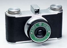 Trusite Girl Scout; a point and shoot camera from the late 1940s.