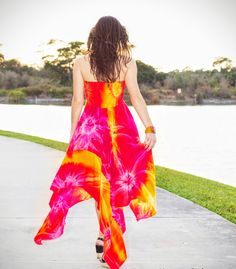 2Tie-Dye For! FireWorks Strapless Dress! TIE-DYE dresses#, Tie-Dye Tank-Tops#, Tie-Dye Rompers, Tie-Dye Maxi Skirts#, Tie-Dye Strapless Dresses#, Tie-Dye Cover-up Dresses# and Tie-Dye Bat-Wing Cover-Up Tops#, www.RooneyImports...