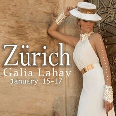 Switzerland do you remamber?! Due to popular demand, Galia Lahav is having a trunk show in Zurich at Boutique Zoro January 15-17 and we want you to be the first to know! We are thrilled to finally set foot in Zurich and be a part of your amazing country