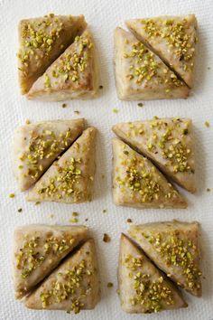 Pistachio-Vanilla Bean Scones