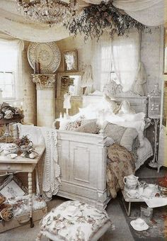 30+ Cool Shabby Chic Bedroom Decorating Ideas | Shabby chic ...