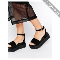 ASOS HANGTIME Flatform Sandals