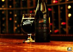 The Bruery - Black Tuesday.  Shot this in the wine cellar.  #craftbeer #beer #photography #drinks