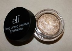 (Elf Long Lasting eyeshadow in Toast. So pretty!