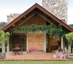 casa tijolo a vista