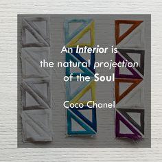 C'è un nesso tra il nostro animo e l'interior design. Ce lo spiega bene Coco Chanel. Sfondo: #Articolo #Matisse, #Collezione #Dance.  #interiordesign #tendaggi #textile #textiles #fabric #homedecor #homedesign #hometextile #decoration #curtains #madeinitaly #ctasrl #italiantextile #design #interior #quote #tessuti Visita il nostro sito www.ctasrl.com e scarica le nostre brochure su: http://bit.ly/1nhrLQM
