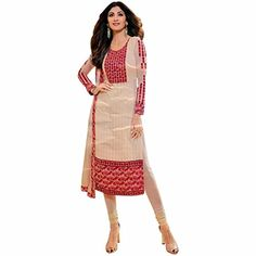 Designer Front EmbroideryBack Printed Salwar Kameez Wedding Formal * Be sure to check out this awesome product.