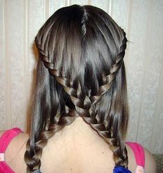 Health Hair Care Advice To Help You With Your Hair. Do you feel like you have had way too many days where your hair goes bad? Are you out of things to try when it comes to managing your locks? New Braided Hairstyles, Plaits Hairstyles, Pretty Hairstyles, Girl Hairstyles, Hairstyle Names, Step Hairstyle, Teenage Hairstyles, Amazing Hairstyles, Unique Hairstyles