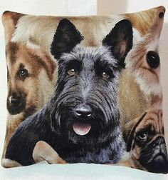 Scottie Dog Gift / Scottish Terrier Fabric Lavender Bag / Black Scottie Gift